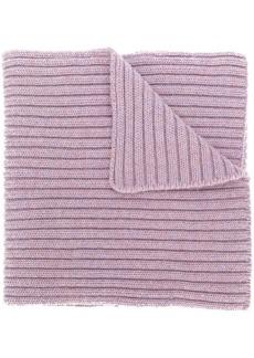 Pringle crossover rib knit scarf