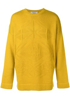 Pringle Fair Isle motif sweater
