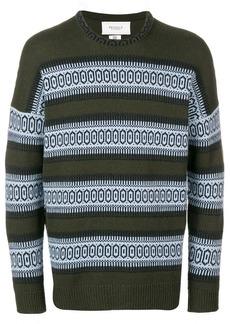 Pringle Fair Isle striped sweater