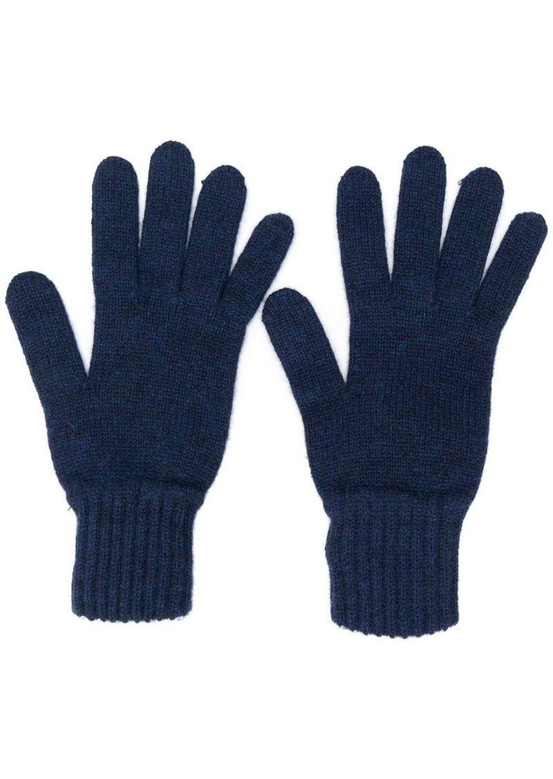 Pringle gloves with ribbed details
