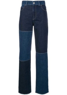 Pringle high waisted patchwork jeans