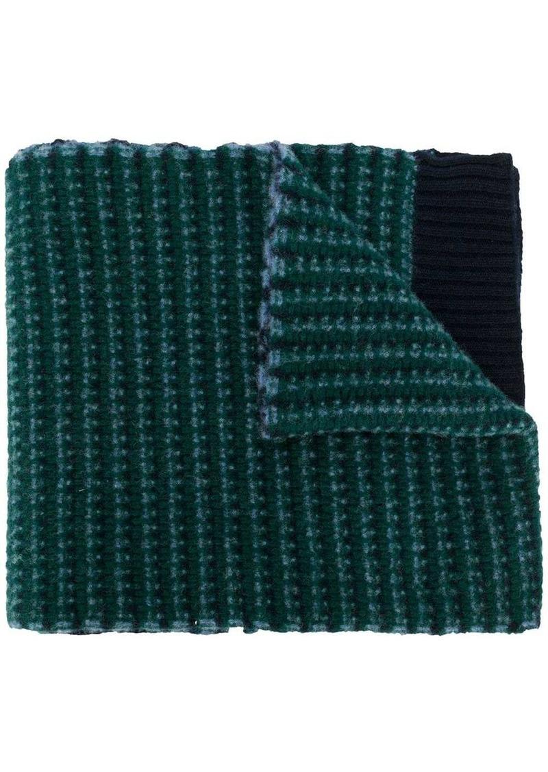 Pringle jacquard knit scarf