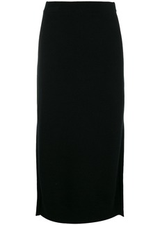 Pringle knitted midi skirt