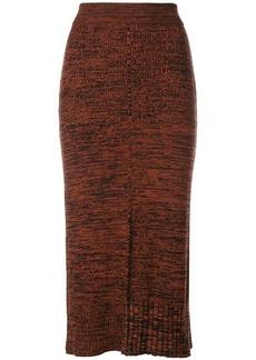 Pringle knitted maxi skirt