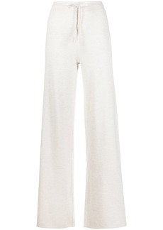 Pringle knitted wide-leg trousers