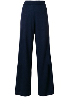Pringle knitted wide leg trousers