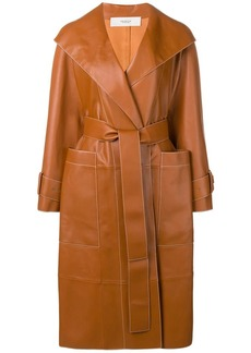 Pringle leather trench coat
