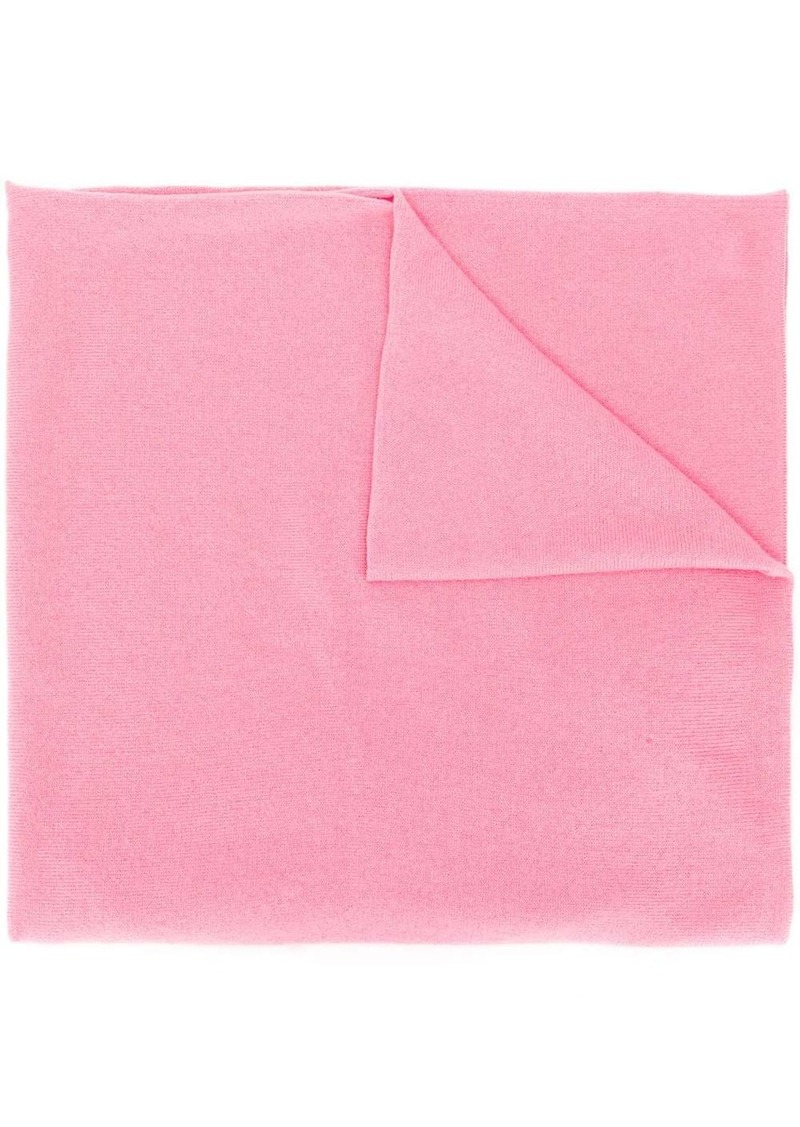 Pringle plain cashmere scarf