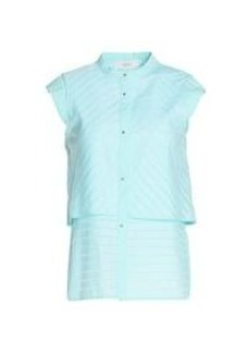 PRINGLE - Solid color shirts & blouses