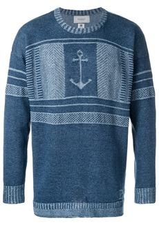 Pringle Of Scotland Anchor jumper - Blue