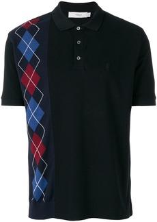 Pringle Of Scotland argyle polo shirt - Black