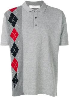 Pringle Of Scotland argyle polo shirt - Grey