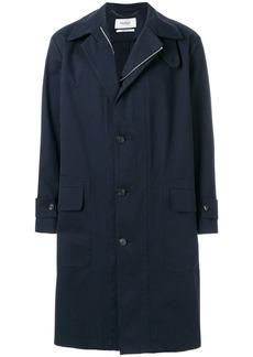 Pringle Of Scotland buttoned raincoat - Blue