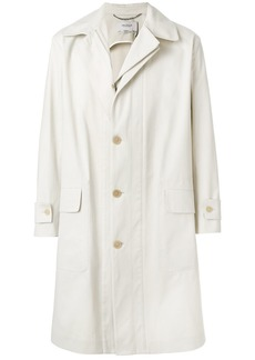 Pringle Of Scotland buttoned raincoat - Nude & Neutrals