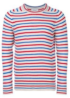 Pringle Of Scotland cashmere striped jumper - Nude & Neutrals