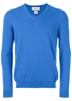 Pringle Of Scotland cashmere V-neck jumper - Blue