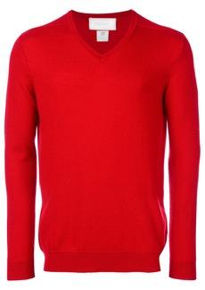 Pringle Of Scotland cashmere V-neck jumper - Red