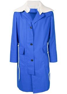 Pringle Of Scotland detachable collar sailing coat - Blue