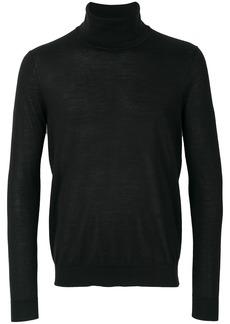 Pringle Of Scotland fine knit roll-neck sweater - Black