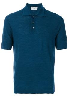 Pringle Of Scotland knitted polo shirt - Blue