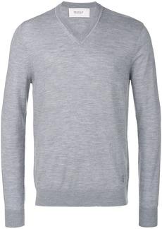 Pringle Of Scotland knitted V-neck sweater - Grey