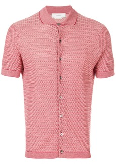 Pringle Of Scotland mini argyle shirt - Red