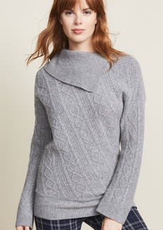 Pringle of Scotland Roll Neck Cable Sweater