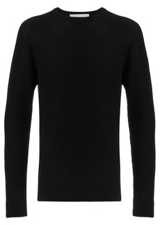 Pringle Of Scotland saddle shoulder jumper - Black