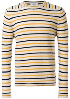Pringle Of Scotland striped jumper - Nude & Neutrals