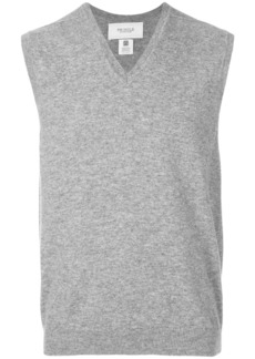 Pringle Of Scotland V-neck sleeveless jumper - Grey