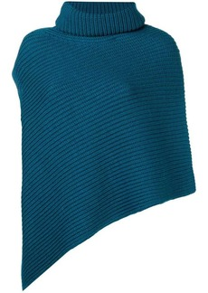 Pringle ribbed knit poncho