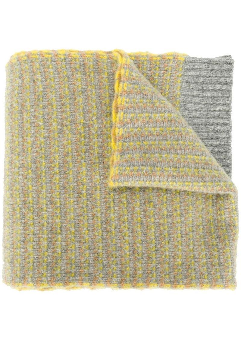 Pringle ribbed knit scarf