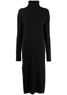 Pringle roll-neck sweater dress