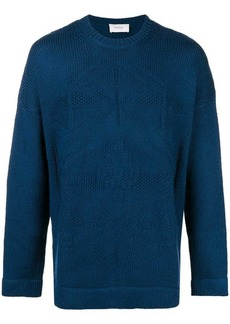 Pringle round neck knitted jumper
