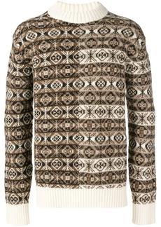Pringle Fair Isle oversized sweater