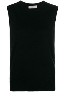 Pringle sleeveless fitted sweater
