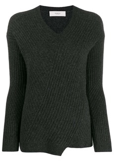Pringle travelling rib v-neck jumper