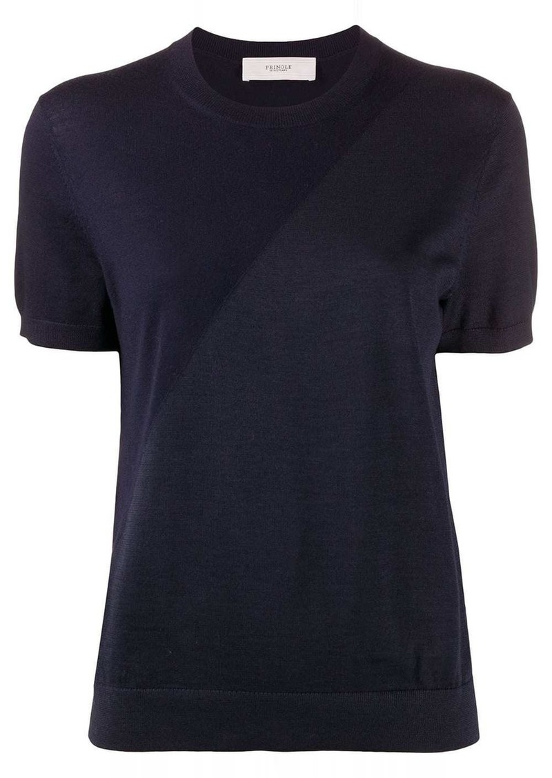 Pringle two-tone short sleeved T-shirt