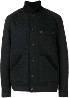 Pringle buttoned padded jacket