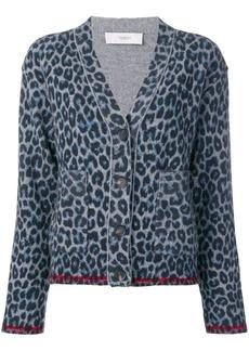 Pringle leopard print cardigan