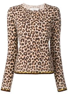 Pringle leopard print jumper