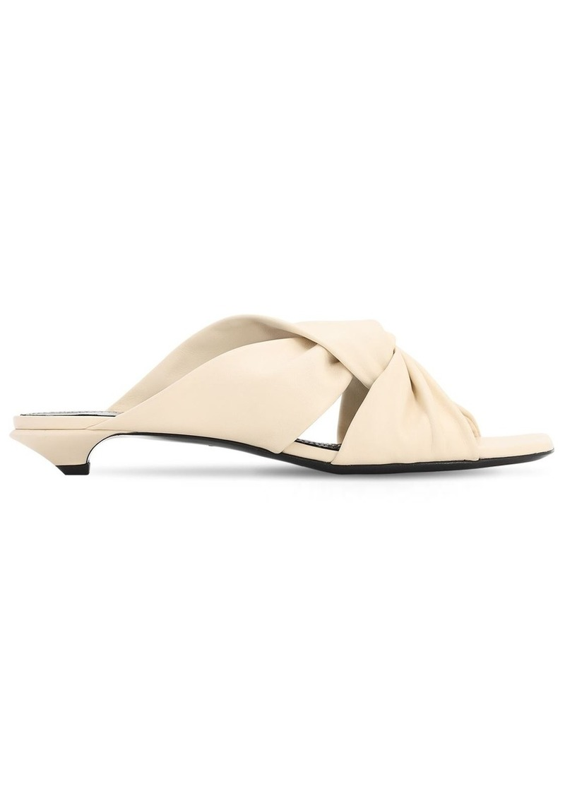 20mm Leather Sandals