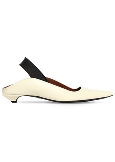 Proenza Schouler 20mm Leather Slingback Flats
