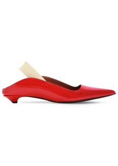 Proenza Schouler 20mm Leather Slingback Flats