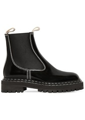 Proenza Schouler 30mm Patent Leather Ankle Boots