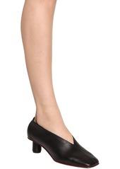 Proenza Schouler 40mm Leather Ballerina Pumps
