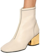 Proenza Schouler 60mm Leather Ankle Boots