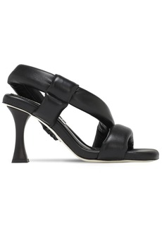 Proenza Schouler 90mm Padded Leather Slingback Sandals