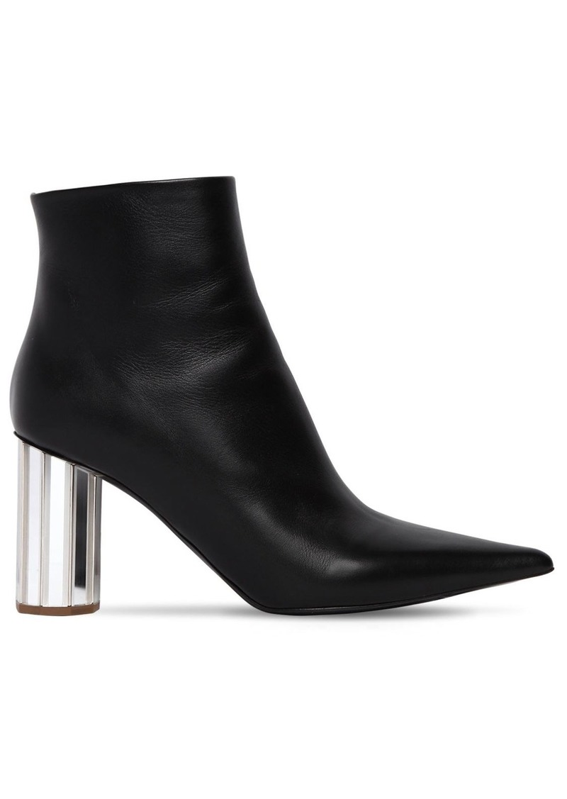 Proenza Schouler 90mm Pointy Leather Ankle Boots