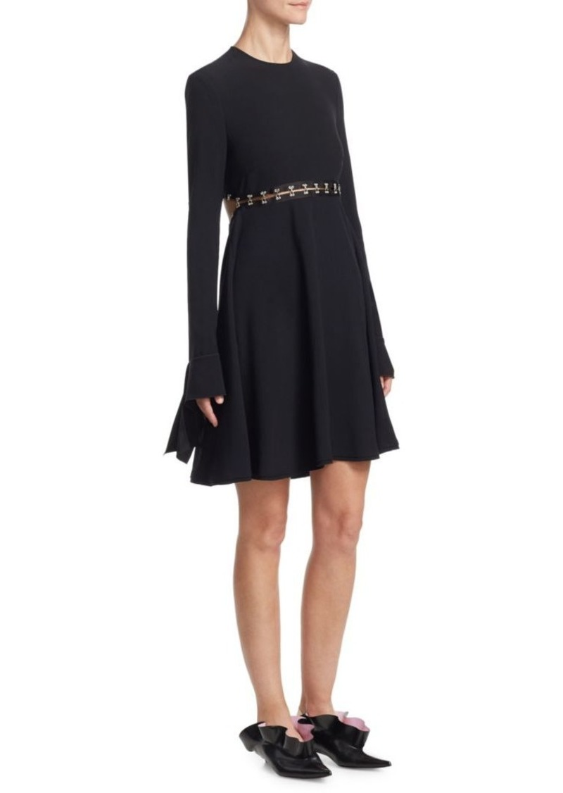 Proenza Schouler A-Line Satin Dress